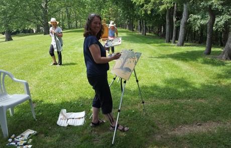 Art Workshop June 17 2017 Ann Willsie 7
