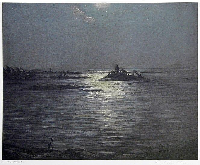 Frank Panabaker Moonlight Bay