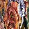 Maya Eventov Flower Blooms 30x36 Detail 2