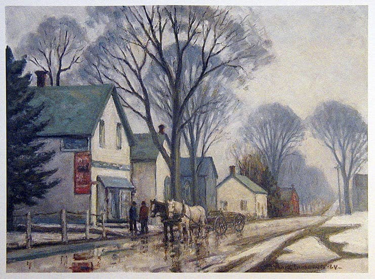 Frank Panabaker The General Store