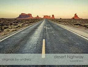 Andrea Kolpaska Desert Highway 2015