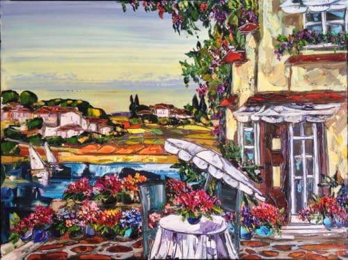 Maya Eventov Tuscany Sunny Terrace 30x40