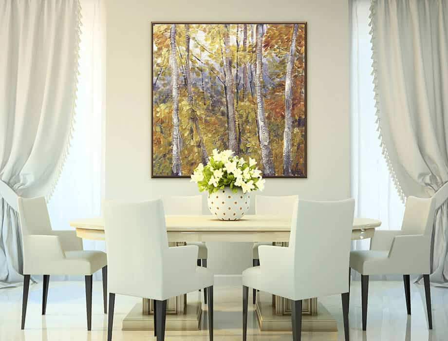 Tanya Kirouac Dining Room Tree