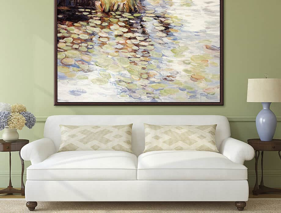 Tanya Kirouac Living Room Pond