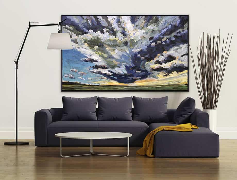 Tanya Kirouac Living Room Oil