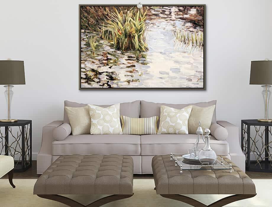 Tanya Kirouac Living Room Pond