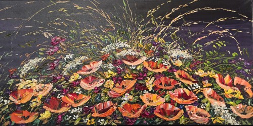 Maya Eventov Floral Dark Setting 24x48