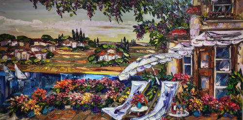Maya Eventov Tuscan Lake Side 30x60