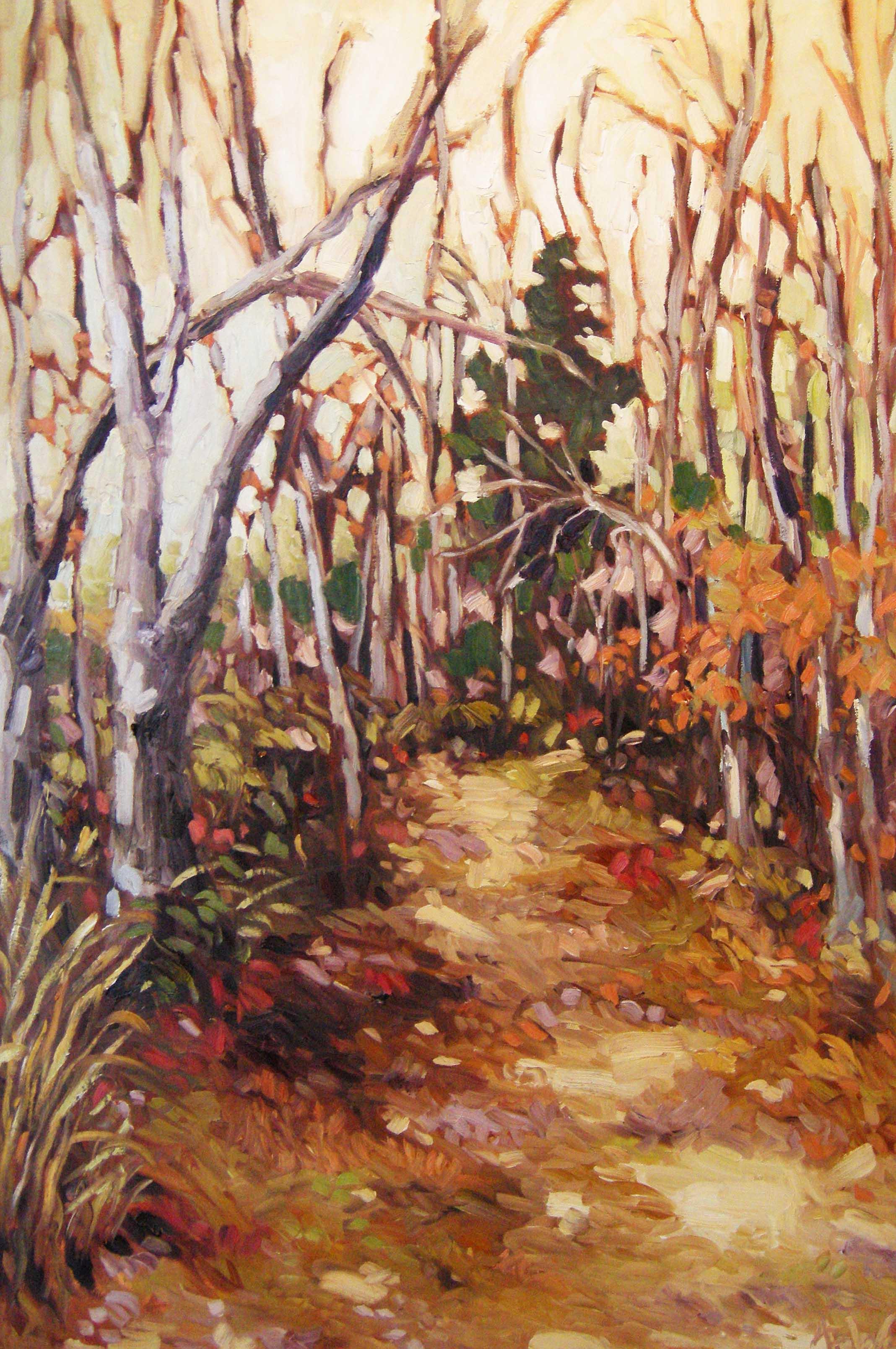 Ann Willsie Chosen Places I 24x36