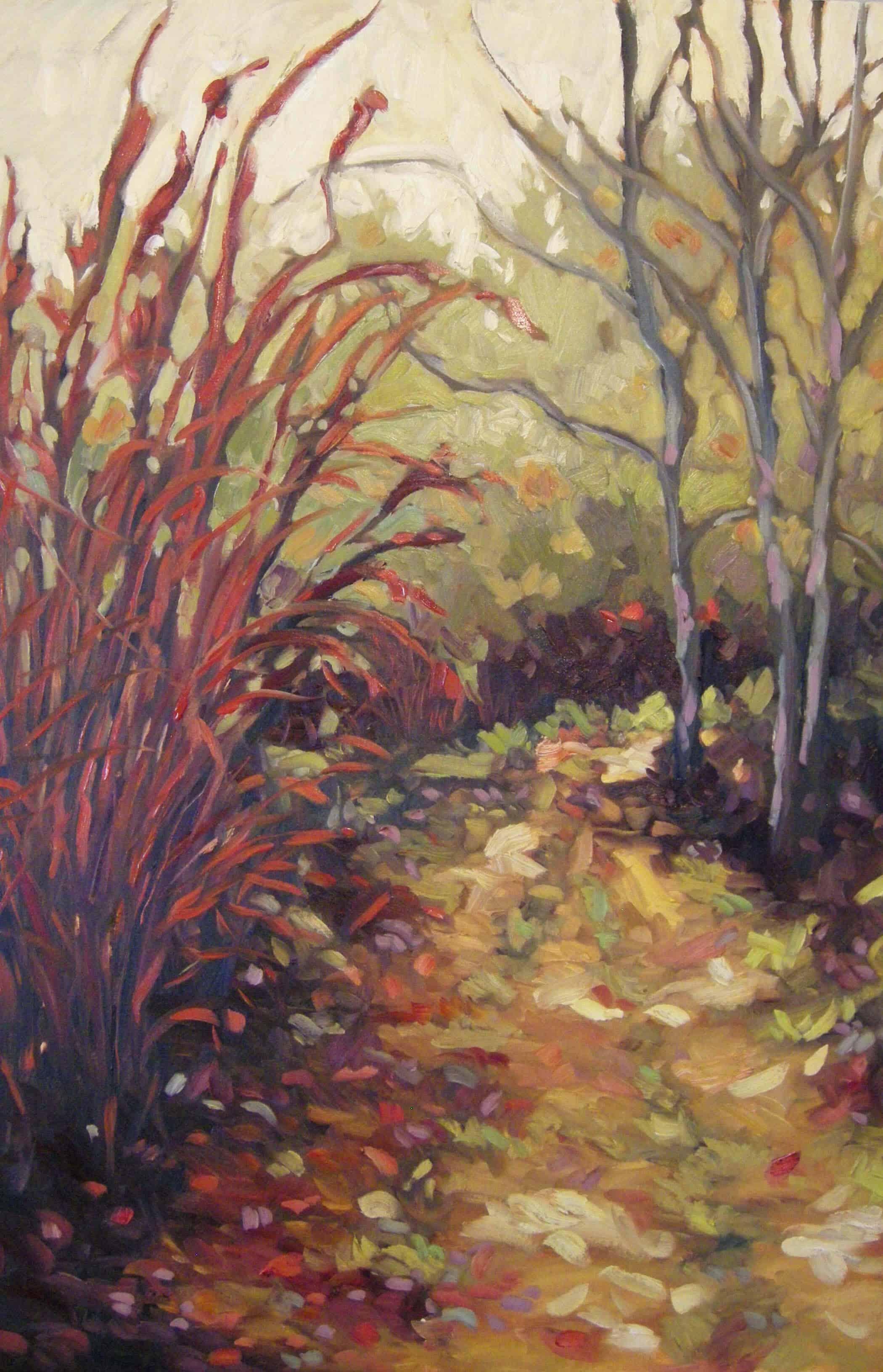 Ann Willsie Chosen-Places VIII 24x36