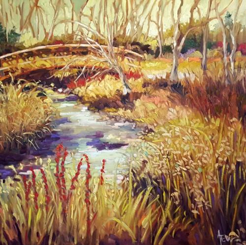 Ann Willsie Credit River Trails 36x36