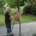 Ann Willsie Photo Plein Air Painting 2
