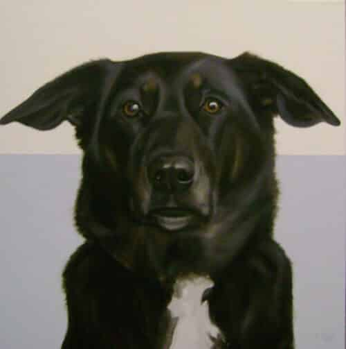 Gretta Gibney In the Ruff-Patience Giclee 30x30