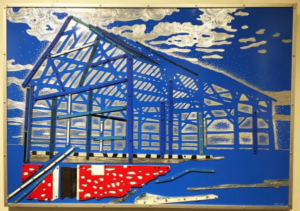 Dave Hind State of the Union 28x40