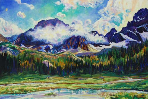 Dominik Modlinski Tonkin Valley 48x72