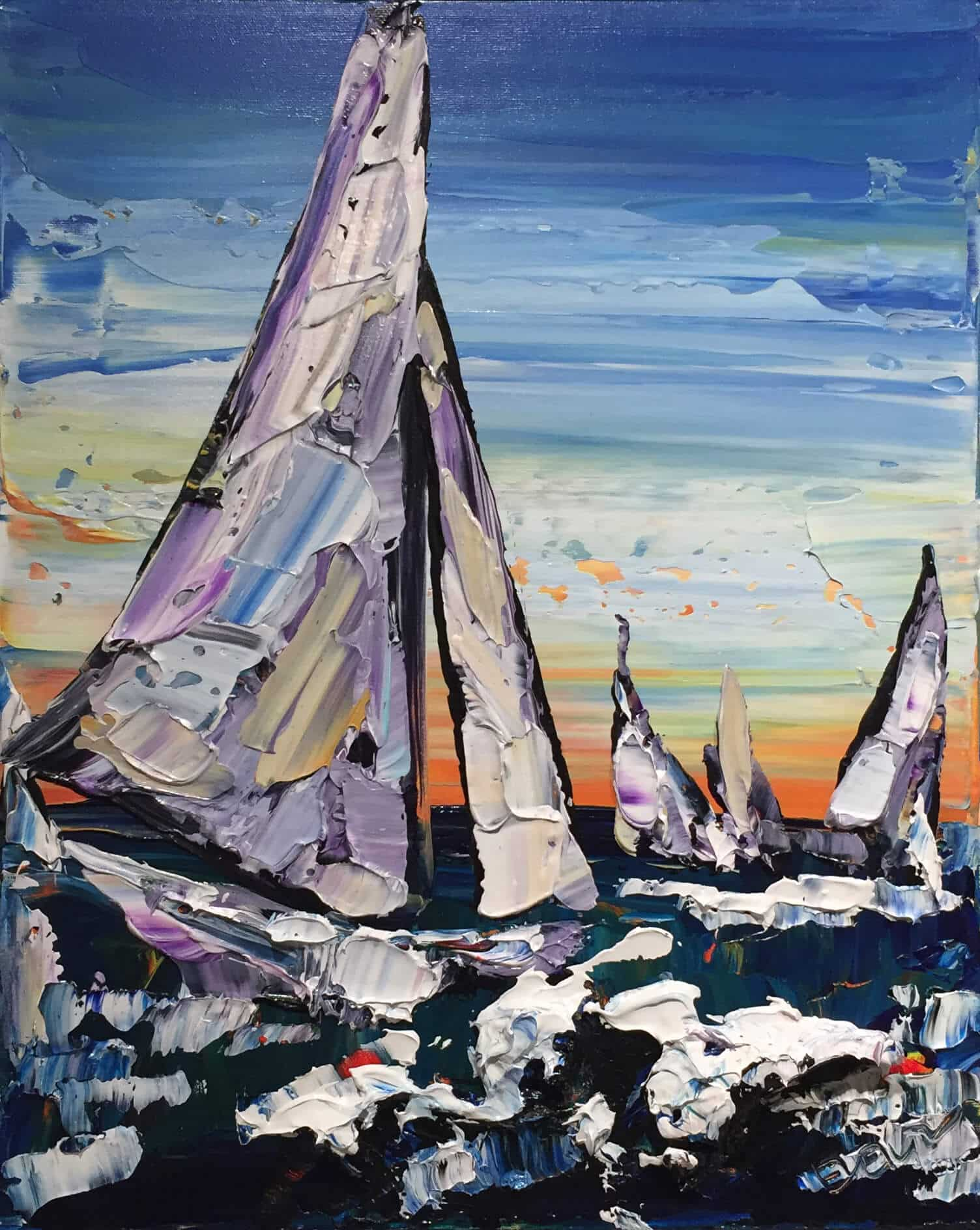 Maya Eventov Sailing A 20×16