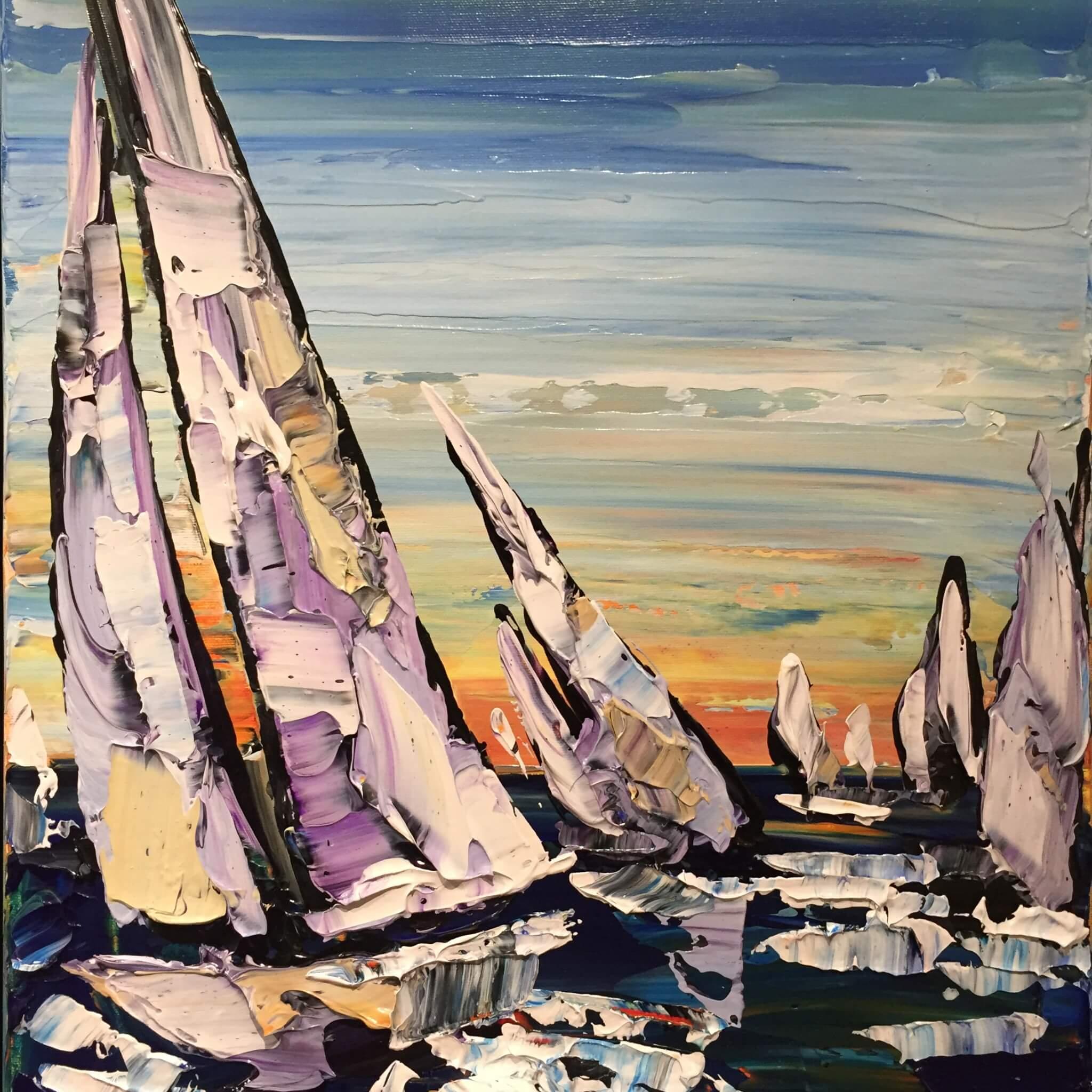 Maya Eventov Sailing B 20x16