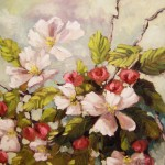 Apple Blossoms 2nd Place
