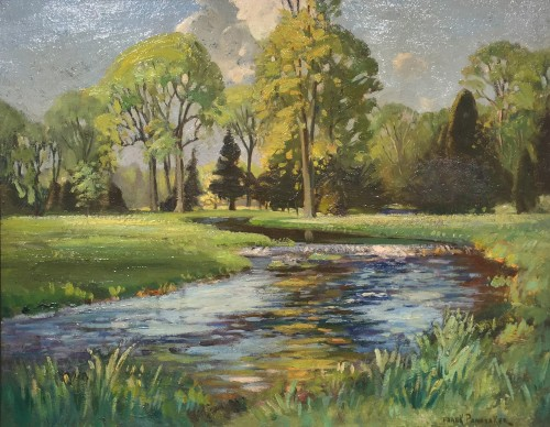 Frank Panabaker Untitled River 22x28