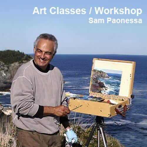Sam Paonessa Art Classes Workshop