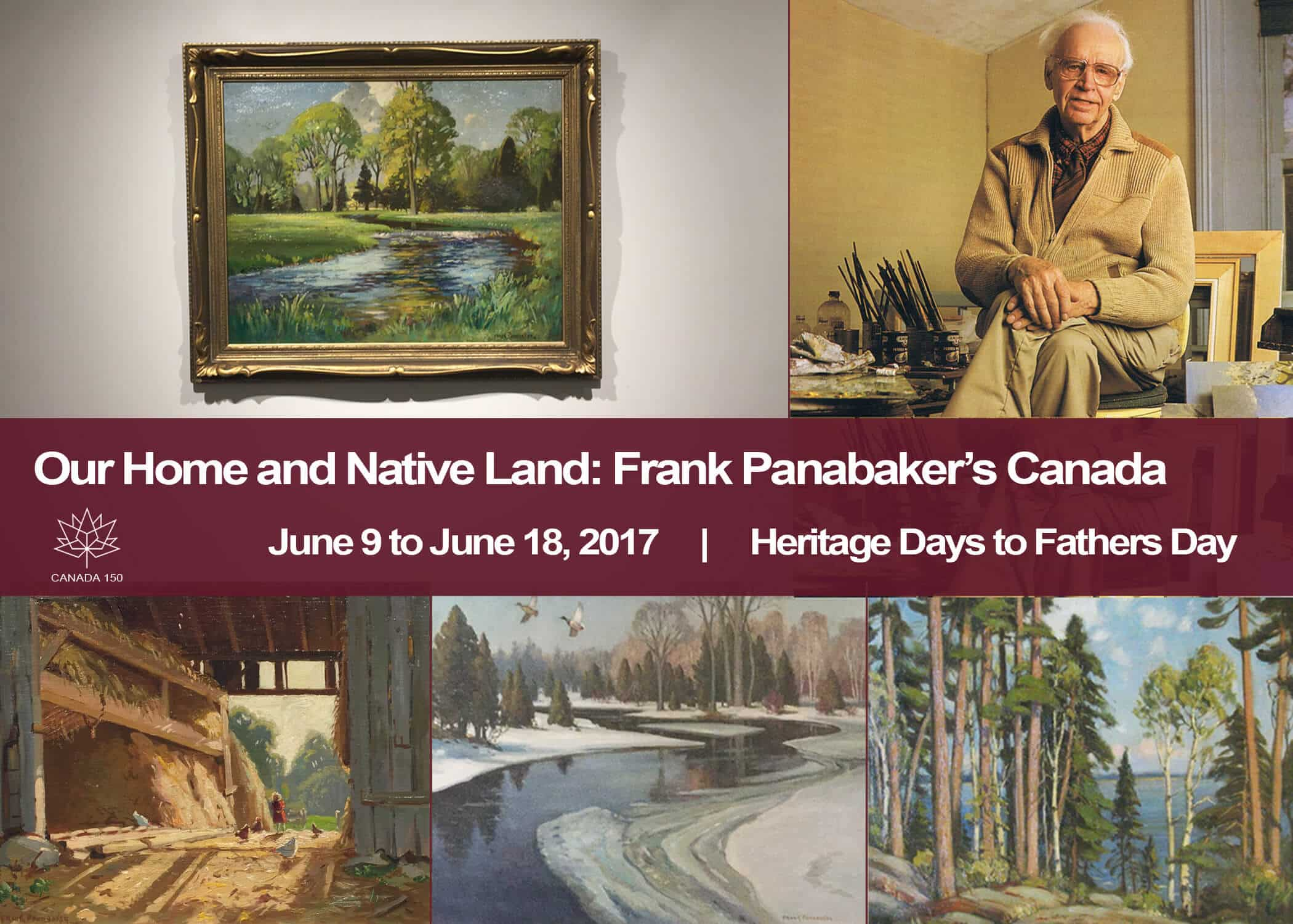 Commemorative Show Frank Panabaker June 2017