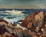 Frank Panabaker East Coast Shoreline 11x14