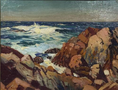 Frank Panabaker East Coast Shoreline 11x14