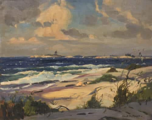 Frank Panabaker Georgian Bay One Tree Island 16x20