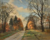 Frank Panabaker Ontario Fall Road 16x20