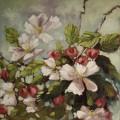 Ann Willsie Apple Blossoms 30X30