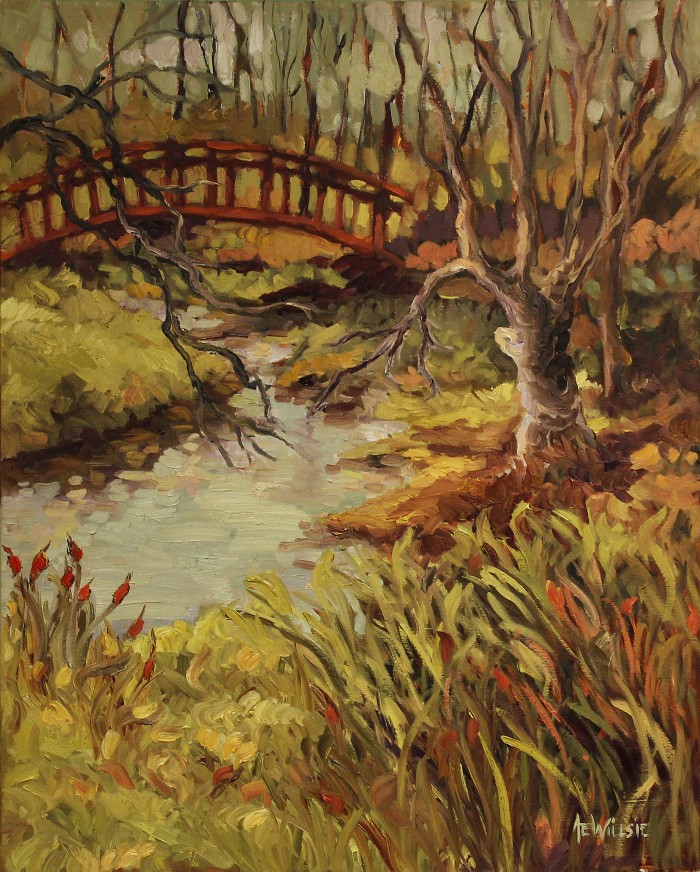 Ann Willsie Credit River 30X24