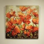 Ann Willsie Icelandic Poppies 36X36 D1