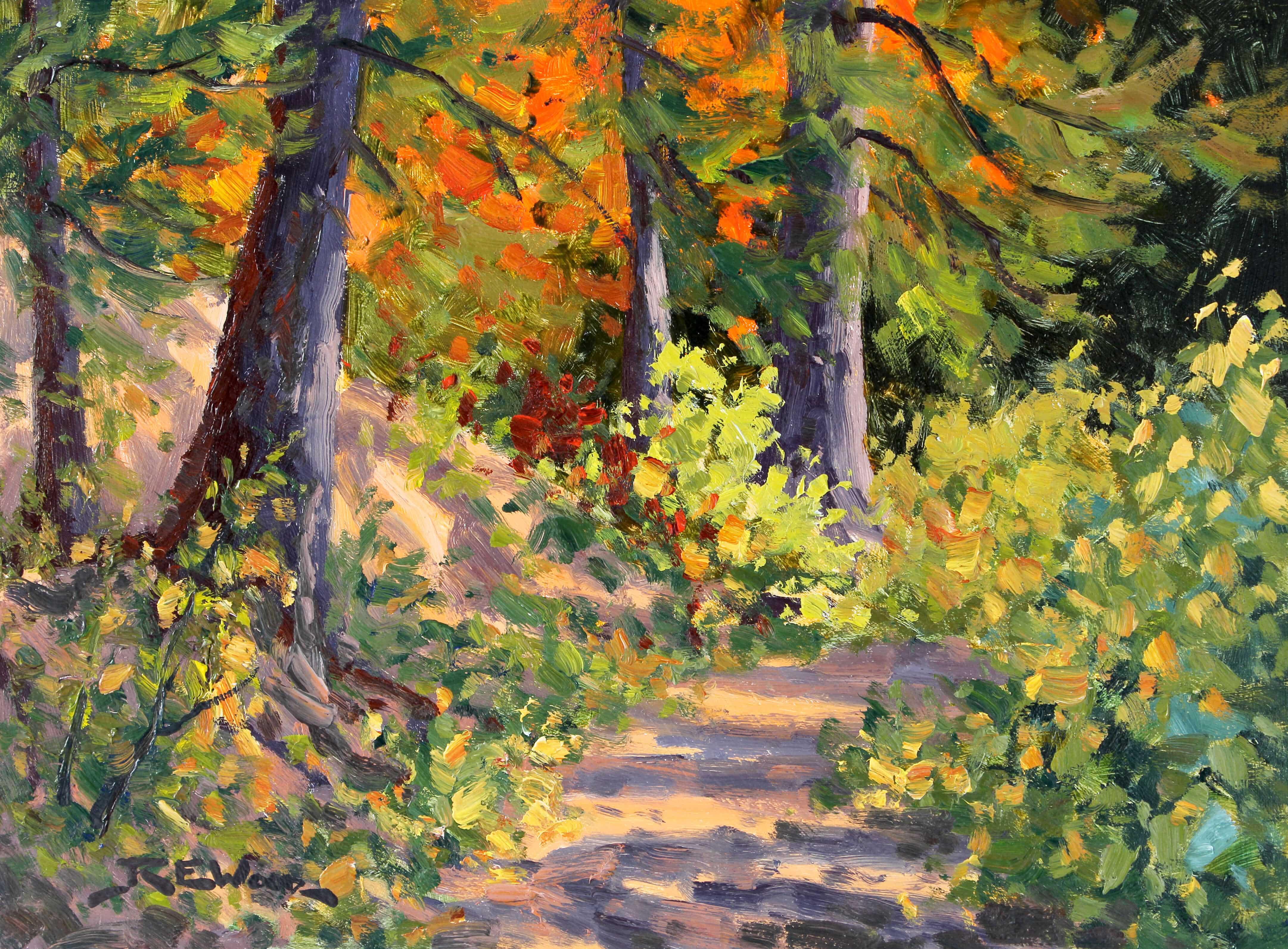 Robert E Wood Arowhon Pines 12x16
