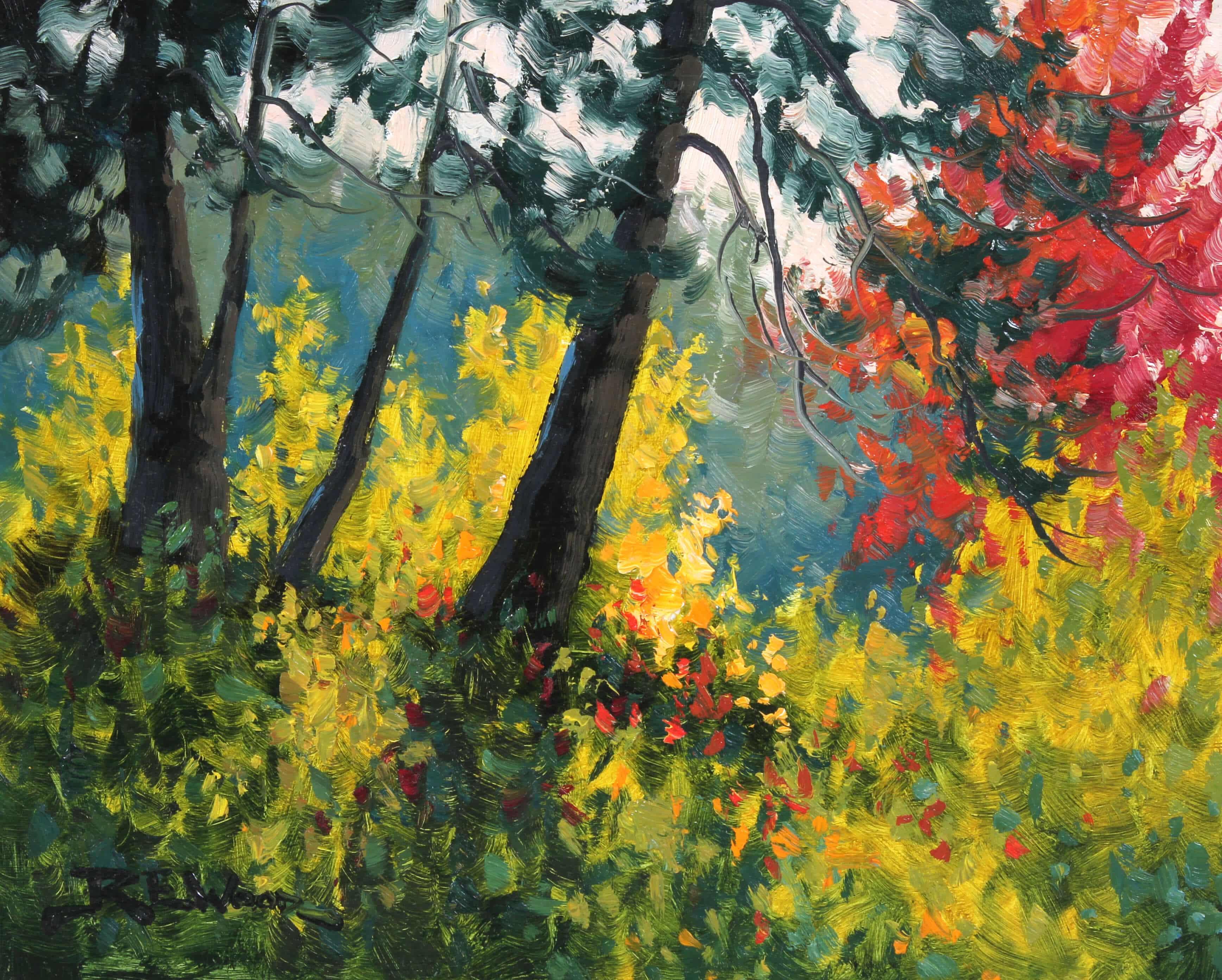 Robert E Wood Autumn Backlight 8x10