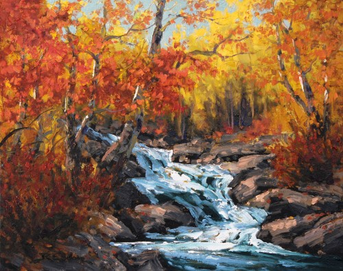 Robert E Wood Creekside Colours 16x20