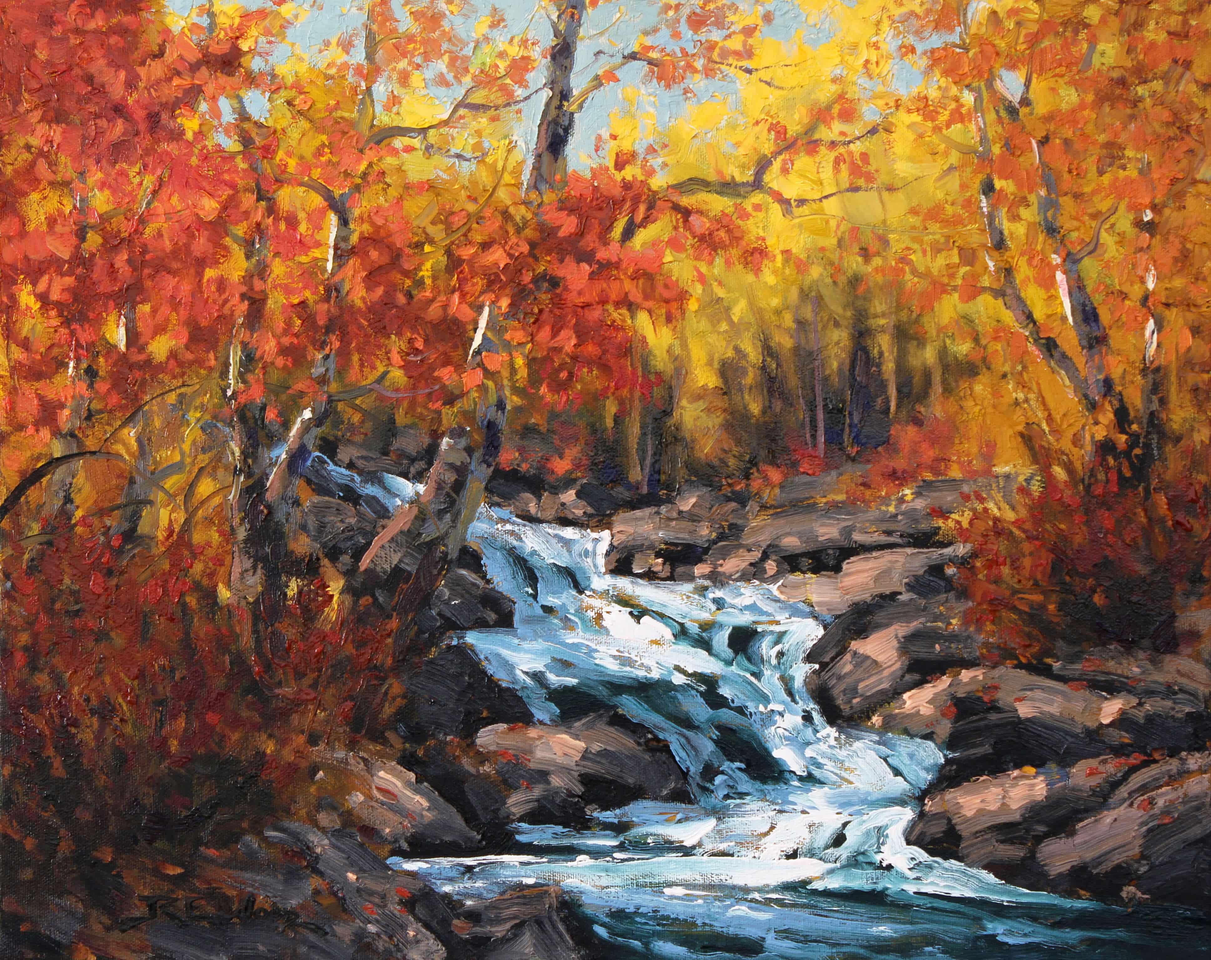 Robert E Wood Creekside Colours 16x20