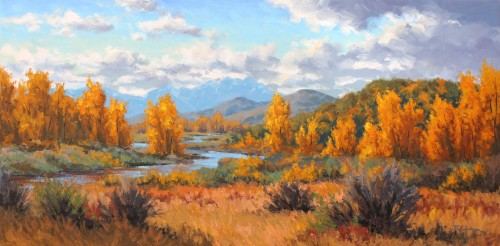 Robert E Wood Highwood Country 24x48