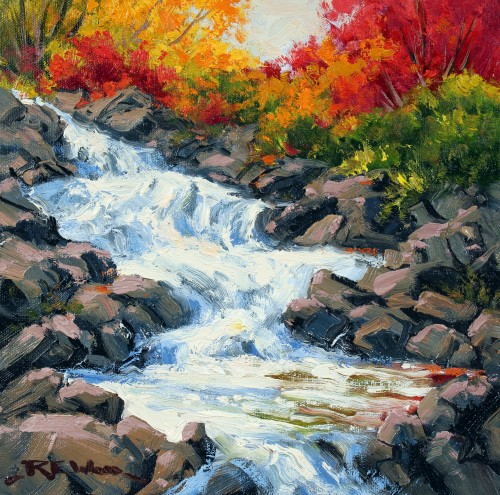Robert E Wood Ragged Falls 10x10