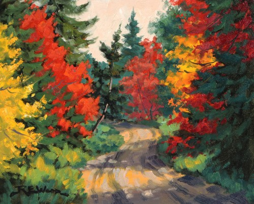 Robert E Wood Road to Arowhorn Pines 8x10