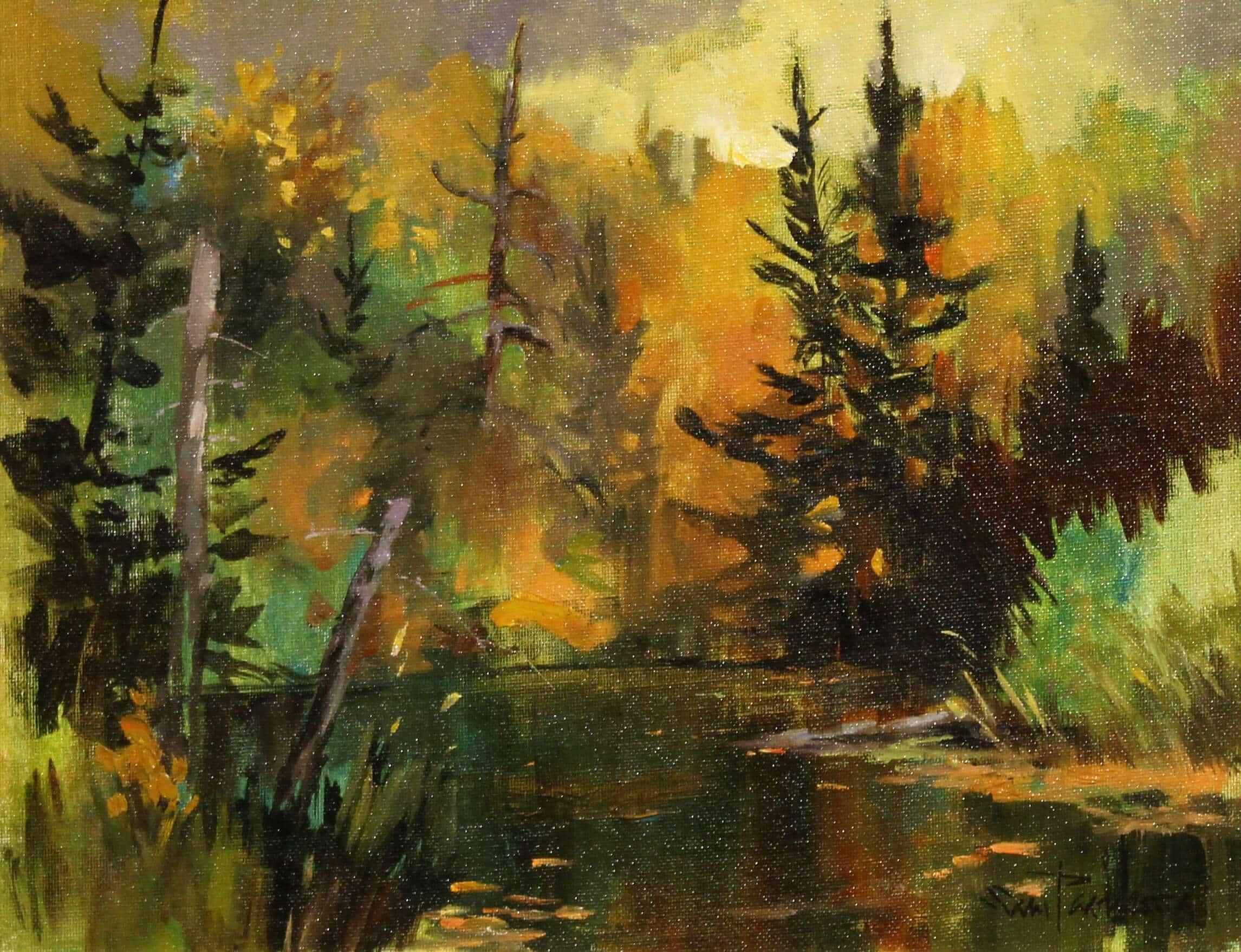 Sam Paonessa Bon Echo Provincial Park 11X14