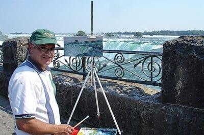 Sam Paonessa Plein Air Niagara Falls