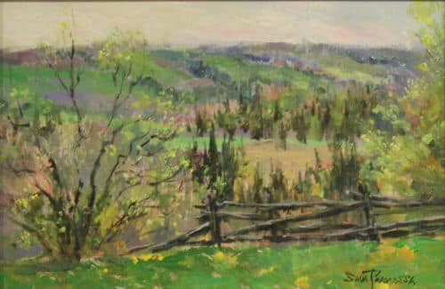 Sam Paonessa View From The Hill 6X9