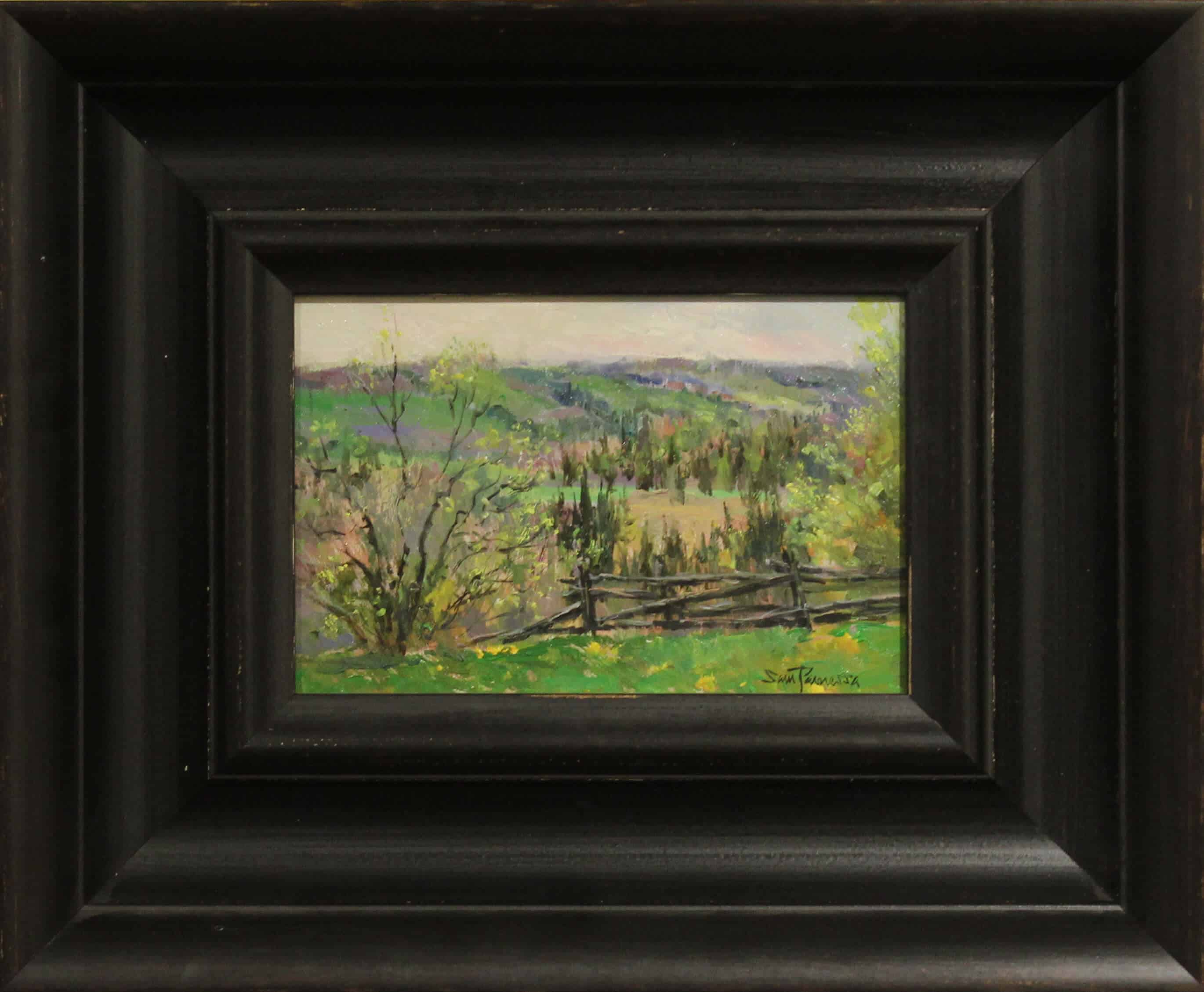 Sam Paonessa View From The Hill 6X9 D1