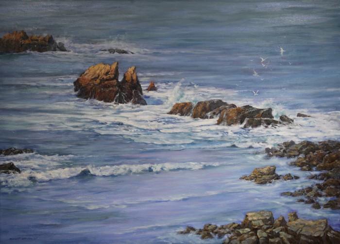 Robert Amirault Coastal Calm 36X50
