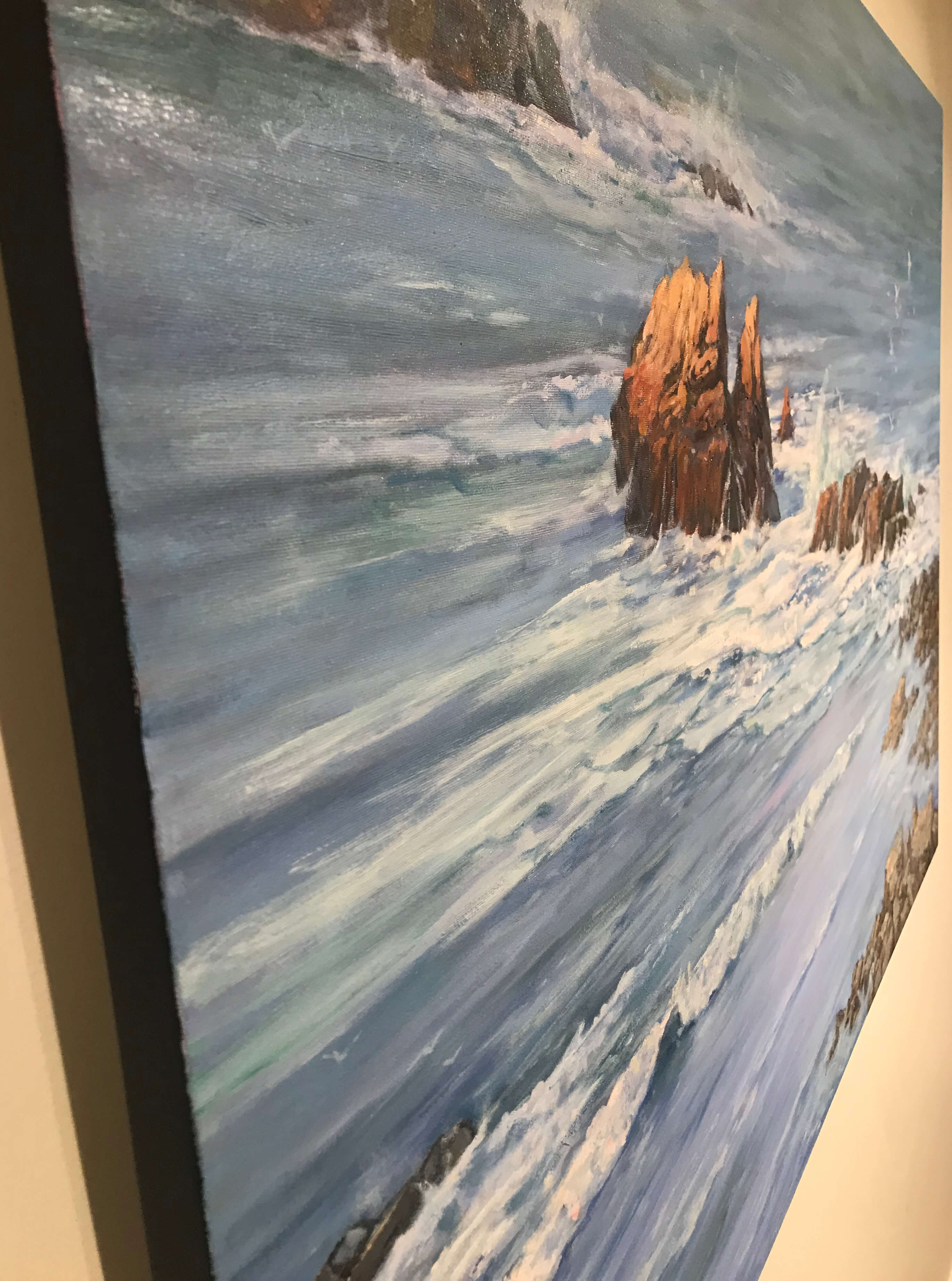 Robert Amirault Coastal Calm 36X50 Detail 3