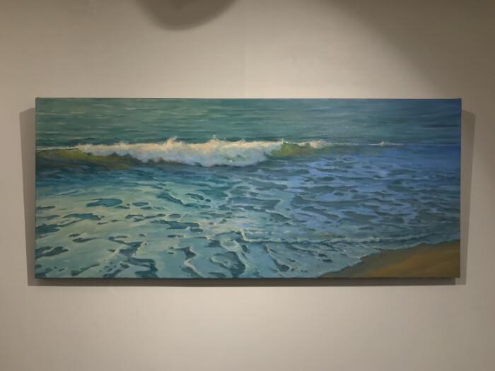 Robert Amirault Gentle Surf 25X60 Detail 1