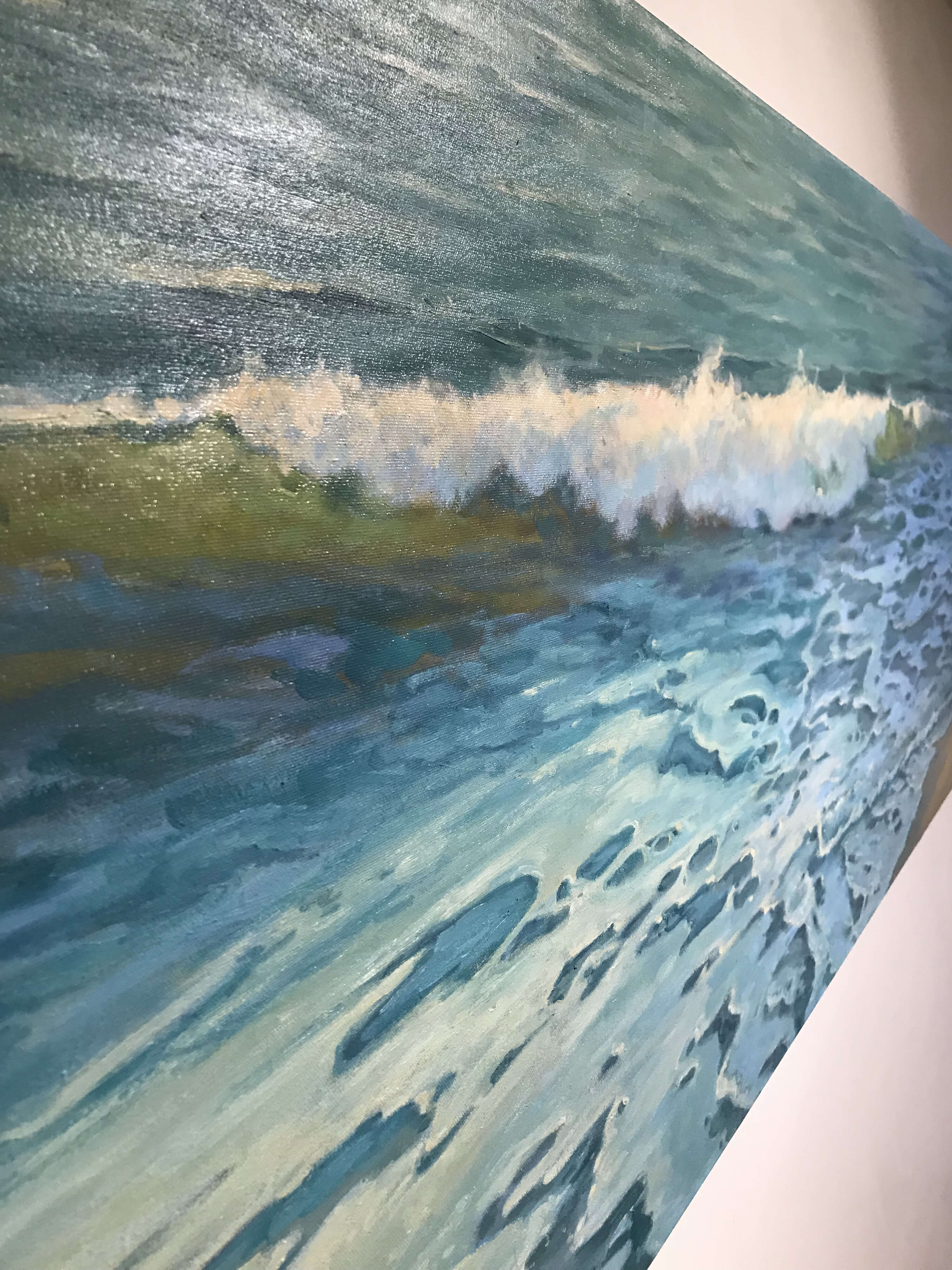 Robert Amirault Gentle Surf 25X60 Detail 2