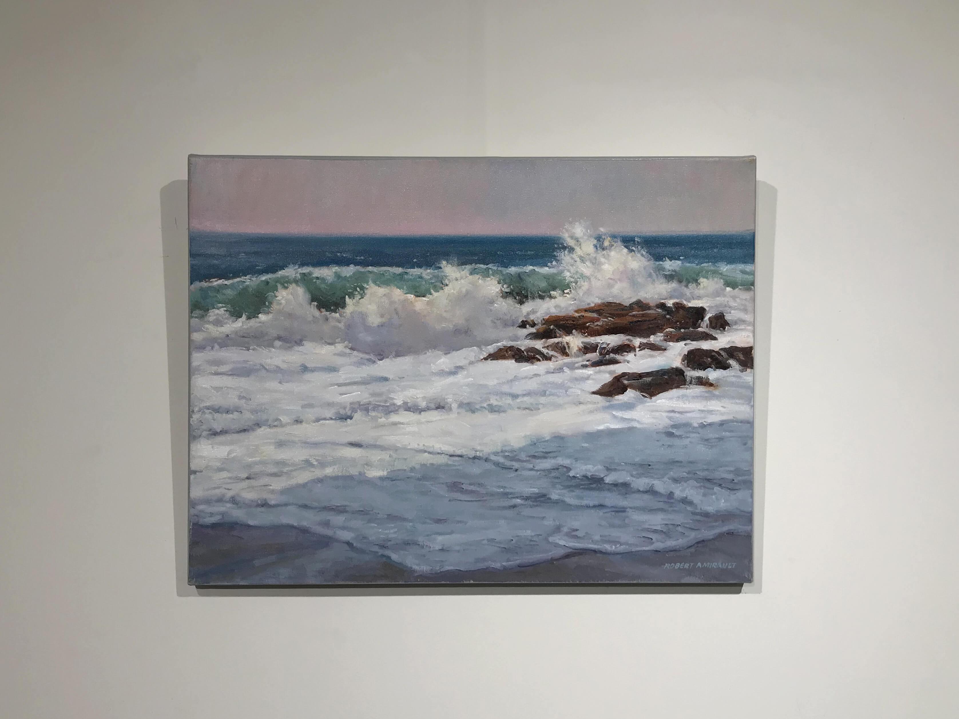 Robert Amirault Surf Shadows 18X24 Detail 1