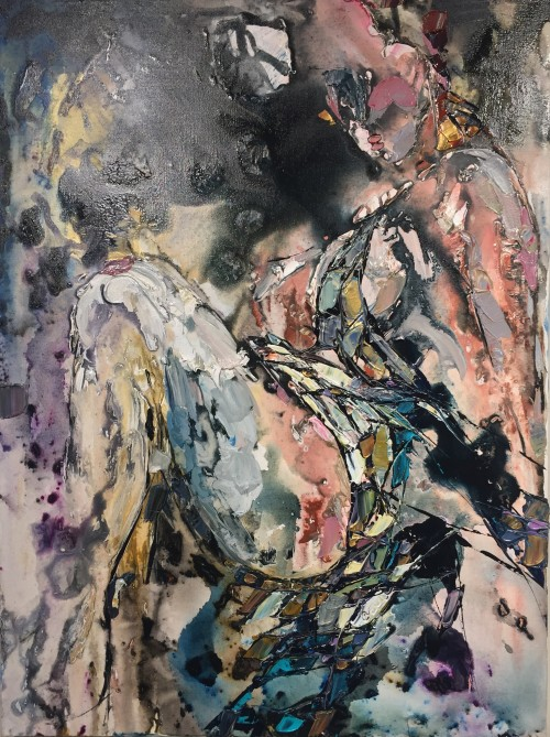 Maya Eventov Abstract Figure 4 40X30