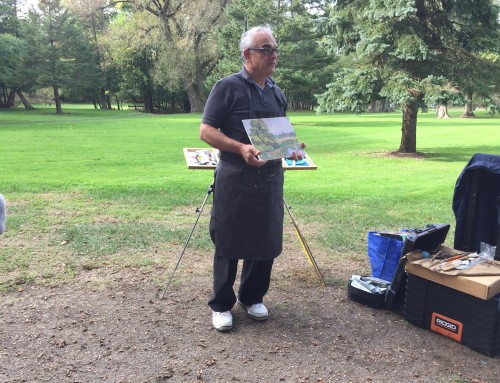Sam Paonessa Art Workshop Oct 21 2017